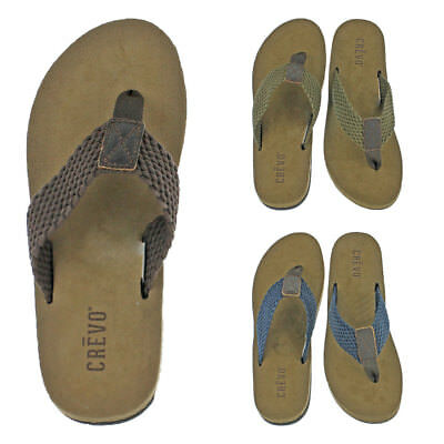 f93c12bc208968 New Sperry Mens Comfortable Leather Baitfish Sandals Flip Flops Thongs.