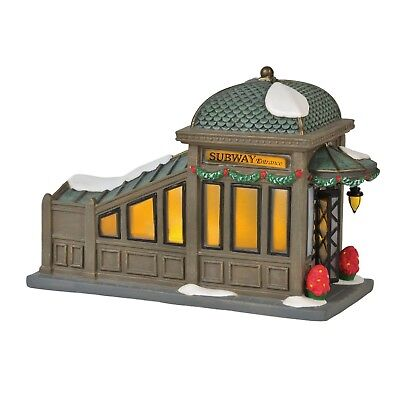Department 56 Christmas In The City New 2018 56TH STREET STATION 6000578 Dept 56