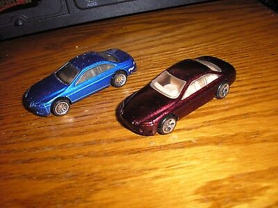Very Nice Lot of 2 Different Hot Wheels LEXUS SC400 Sport Cars Free Shipping