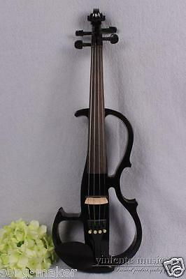 New 4/4 Electric violin Solid wood Powerful Sound reverberation function #1652