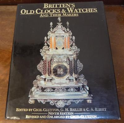 baileys old clocks & watches, a big book