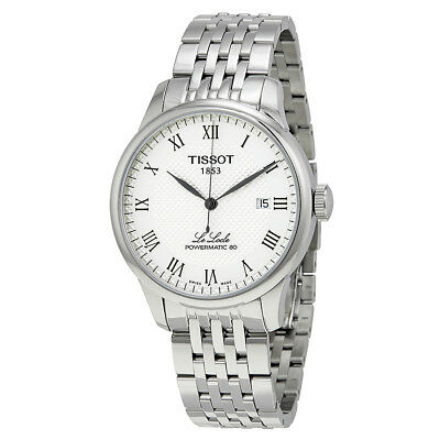 Tissot Le Locle Powermatic 80 Automatic Silver Dial Mens Watch T0064071103300
