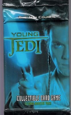 "Star Wars Young Jedi ""The Jedi Council"" Booster Pack lot of 3"