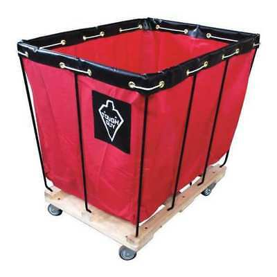 Basket Truck,12 Bu. Cap.,Red,36 In. L TOUGH GUY 33W324