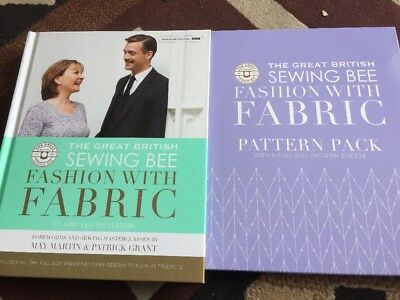 THE GREAT British Sewing Bee Fashion With Fabric. Inc Patterns ...