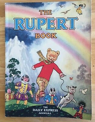 RUPERT ORIGINAL ANNUAL 1948 Neatly inscribed Price Clipped FINE!