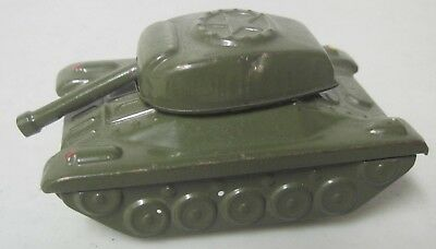 """Vintage Made In Japan Friction Tin U.s. Army Tank """"old Droopy"""""""