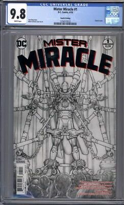 Mister Miracle #1  Sketch Cover  4th Print  DC Comics  CGC 9.8