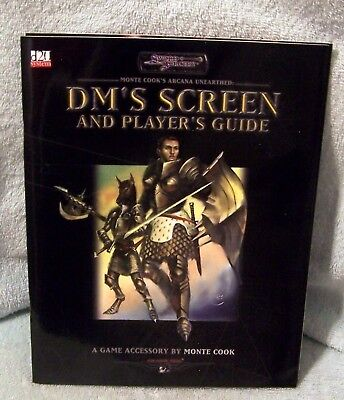 Sword & Sorcery Monte Cook Arcana Unearthed Dm's Screen And Player's Guide