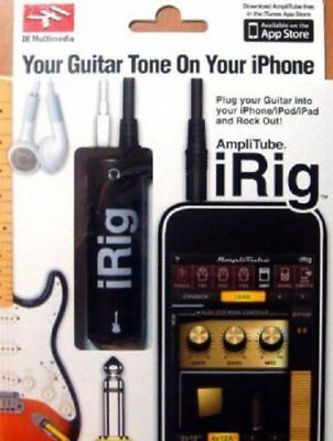 ☆ IRIG IK Multimedia guitare midi interface ampli pour iphone/ipod/ipad pro ☆