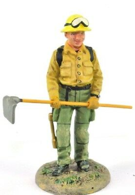 Forestal Firefighter Figurine Fireman USA 2001 Metal Del Prado 1/32 2.75""