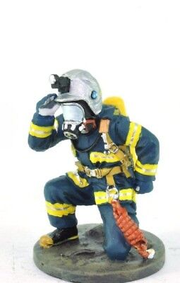 Firefighter Figurine Fireman Japan 2004 Metal Del Prado 1/32 1.96""