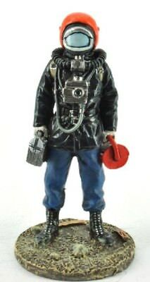 Firefighter Figurine Fireman GREP Paris France 1978 Metal Del Prado 1/32 2.75""