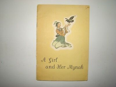 1959 A Girl And Her Mynah 1st Edition Children Book China Cheng Shih-fa English