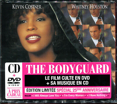 The Bodyguard - Whitney Houston - Cd Audio + Dvd Box Anniversary French Edition