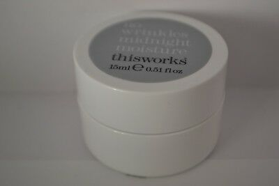 This Works No Wrinkles Midnight Moisture travel size 15ml RRP 48ml £46