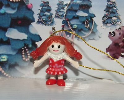 Rudolph The Island of Misfit toys Misfit Dolly Miniature Red Ornament