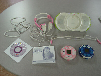 FISHER PRICE - FP3 PLAYERS - 2 players 1 speaker set misc accessories software
