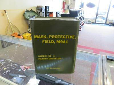 Military Field Mask SIZE M M9A1 Protective Gear Gas Mask UNOPENED BRAND NEW