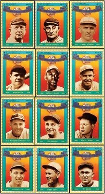 BASEBALL HALL OF FAME HEROES OFFICIAL BASEBALL CARD STAMPS 1st EDITION SEALED