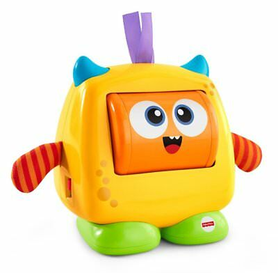 Fisher-Price Fun Expressions & Feelings Monster Spin for Faces & Sounds Baby Toy