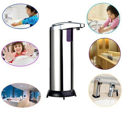 Automatic Stainless Steel IR Sensor Touchless Soap Dispenser / Stand Handsfree^