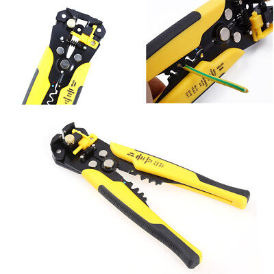 3 in 1 Car Crimping Pliers Cutting Wire Stripper Self Adjusting Electrician Tool