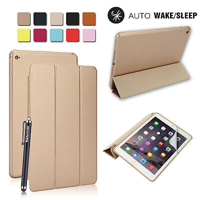 Luxury Smart Stand Magnetic Back Case Cover For APPLE IPAD 9.7 5th 6th Gen.