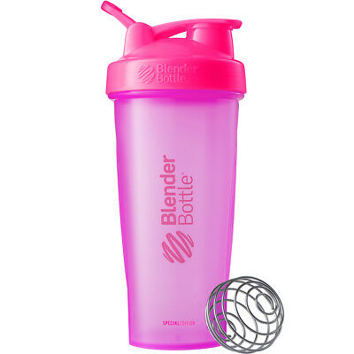 Blender Bottle Special Edition 28 oz. Shaker with Loop Top - Hyper Pink