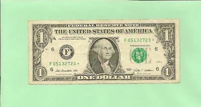 N1S    2009* $1  F 0513 2723 *  ..... Star Note  ......    2009  F-*      Frn