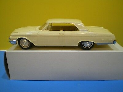1962 Galaxie 500 Hard Top Dealer Promo in Cream without Box