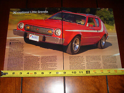 1974 American Motors Amc Gremlin X - Original 2004 Article
