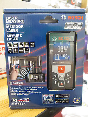BOSCH GLM 50 CX 165ft LASER MEASURE NEW