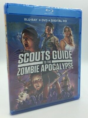 Scouts Guide to the Zombie Apocalypse (Blu-ray+DVD+Digital, 2016) NEW