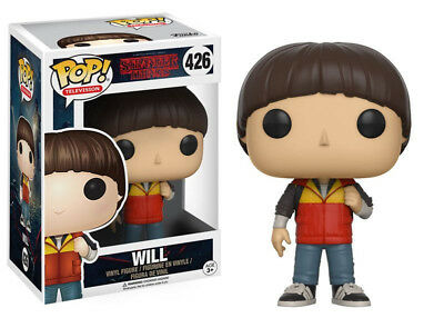 Stranger Things Will Byers Vinyl POP! Figure Toy #426 FUNKO NEW MIB