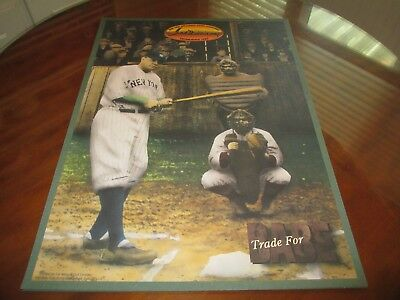 """Babe Ruth - New York Yankees 1994 Ted Williams Co. """"Trade for Babe"""" Poster"""