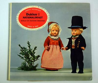 OOP Book DOLLS IN DANISH DRESSES Grete Petersen - Denmark Doll Clothes Patterns