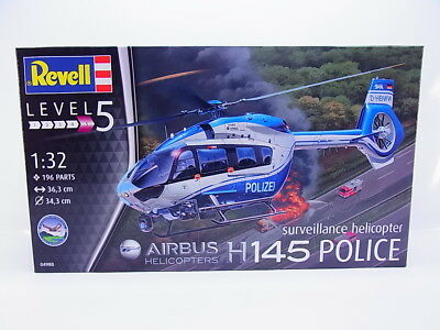 LOT 49161 | Revell 04980 Airbus Helicopters H 145 Police 1:32 Bausatz NEU in OVP