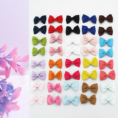 40Pcs Handmade Grosgrain Ribbon Boutique Bow Hair Clip Pin Alligator Baby/girl