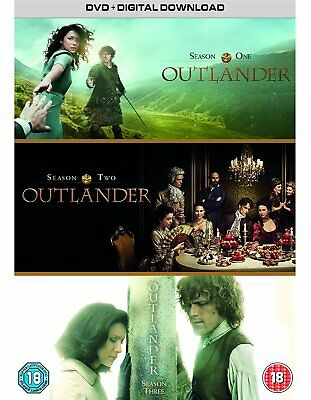 Outlander complete Season Series 1 + 2 + 3 DVD Box Set R4 season 1 inc part 1+2
