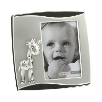 Widdop Silver Plated Photo Frame Baby Christening 3x4 Inch Gift Boxed NEW