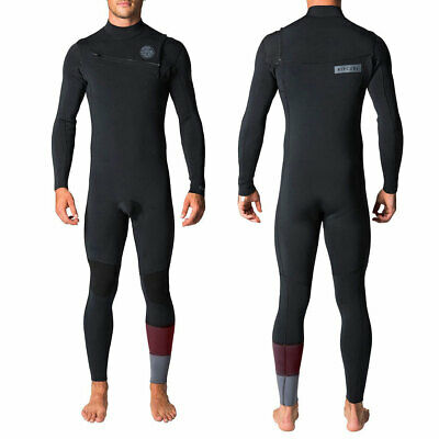 Rip Curl Aggrolite Chest Zip 4/3mm Herren Men Neopren Wetsuit Gr. S/48 - L/52