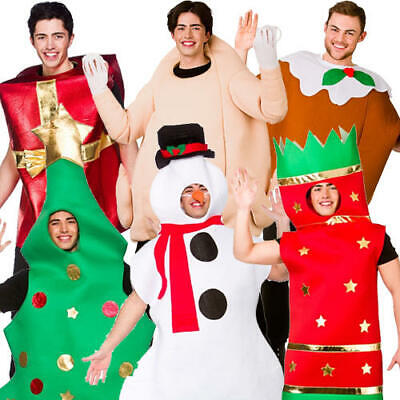 Christmas Adult Fancy Dress Xmas Festive Jolly Season Mens Ladies Costume Outfit