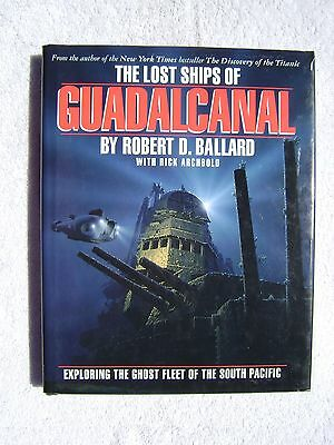 The Lost Ships Of Guadalcanal Book Maritime Nautical Marine (#131)