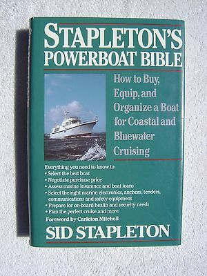 Stapletons Powerboat Bible Book Maritime Nautical Marine (#132)