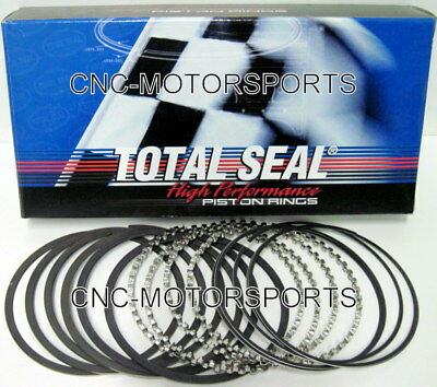 Total Seal Gapless 2nd Piston Rings T6490-STD 1/16 1/16 3/16 4.320 Bore Pre Fit