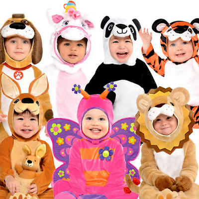 07bf2198ba Baby Animal Fancy Dress Jungle Zoo Toddler Infants Girls Boys Costume Outfit  New