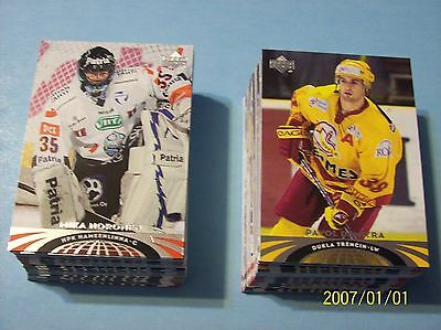 """2004-05 Upper Deck """"All-World"""" Edition. Complete 90 Card Set!"""