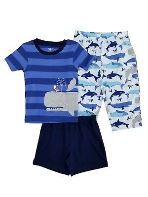 b3a641b1d SIMPLE JOYS BY Carters Boys Toddler 6-Piece Snug Fit Cotton Pajama ...