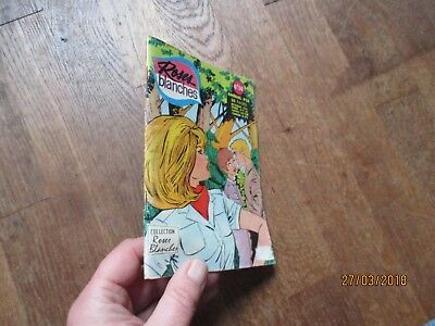 PETIT FORMAT BD ROSES BLANCHES 63 aredit 1967